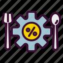 food, nutri, nutrisystem, nutrition, system icon