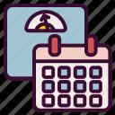calendar, diet, tracking, weight