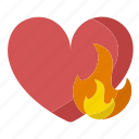 burn, calorie, calories, daily, heart, needs, rate icon