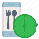 app, application, food, track, tracking icon