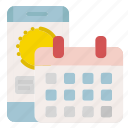 app, application, calendar, tracking icon