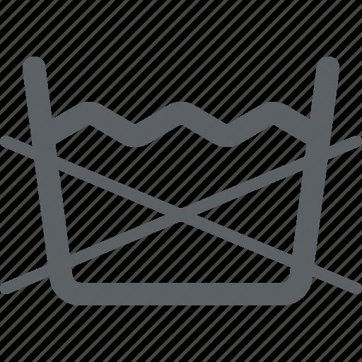 clothing care, dont washing, laundry, machine, washable icon
