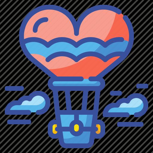 Air, balloon, flight, fly, love, urban, valentine icon - Download on Iconfinder