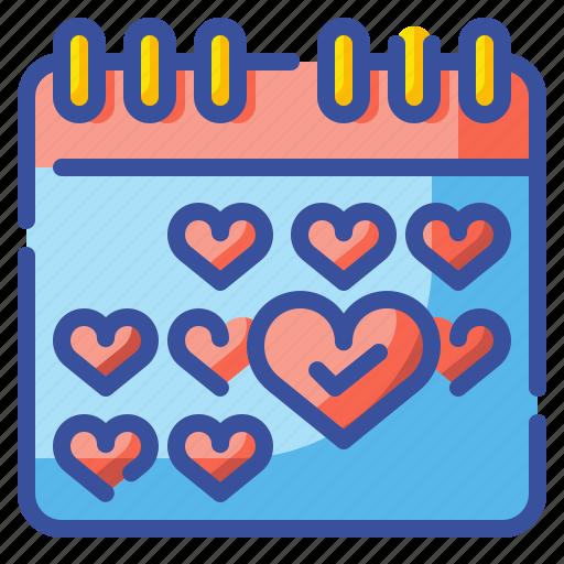 Calendar, date, events, list, month, schedule, year icon - Download on Iconfinder