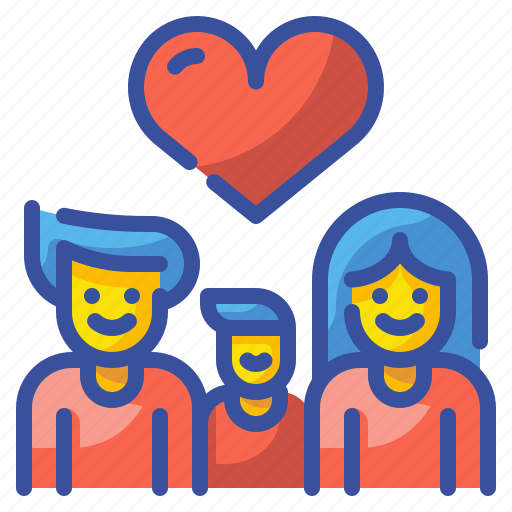 Family, group, love, lovely, parent, people, person icon - Download on Iconfinder