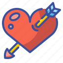 lover, shapes, loving, like, heart, peace, love icon