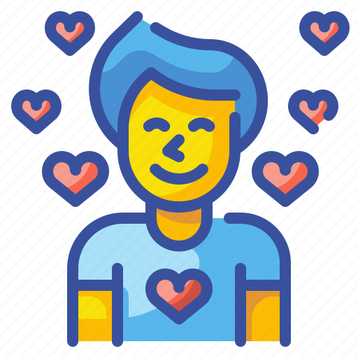 Avatar, boy, love, male, man, person, user icon - Download on Iconfinder