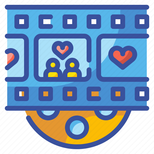 Cinema, love, major, movie, romantic, scene, valentine icon - Download on Iconfinder