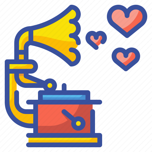 Heart, love, melody, music, musical, musician, song icon - Download on Iconfinder