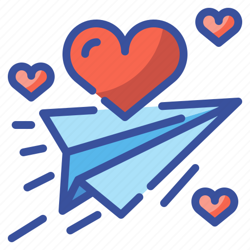 envelope, heart, letter, love, message, send, valentine icon