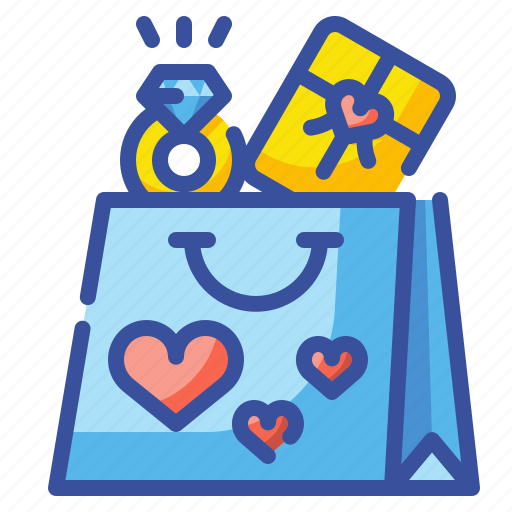 Bag, buy, gift, love, shop, shopping, valentine icon - Download on Iconfinder