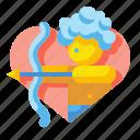 arrow, cupid, heart, love, lovely, romantic, valentines