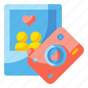 camera, heart, image, love, photograph, picture, valentines