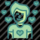 avatar, boy, love, male, man, person, user