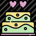 cake, love, app, romance, wedding, romantic, heart