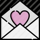 love, letter, app, romance, heart, message, mail