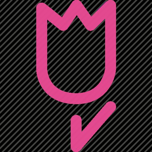 favorite, heart, love, romantic, rose, valentine icon