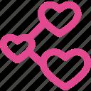 connect, love, favorite, heart, like, valentine