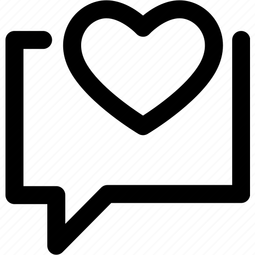 communication, heart, love, mail, message icon