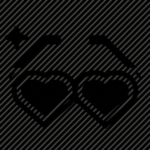 Eyeglasses, glasses, love, sunglasses icon - Download on Iconfinder