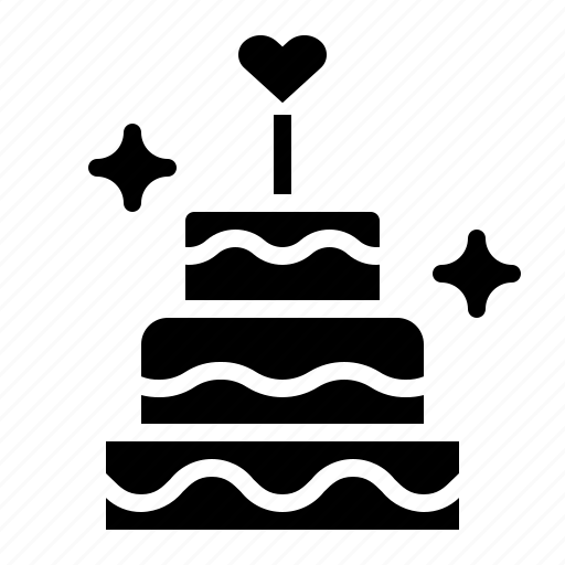 Cake, love, wedding icon - Download on Iconfinder