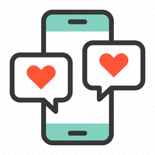 chat, dating, love, love chat, love message, message icon