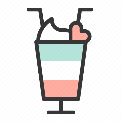 dating, drink, love, love drink icon
