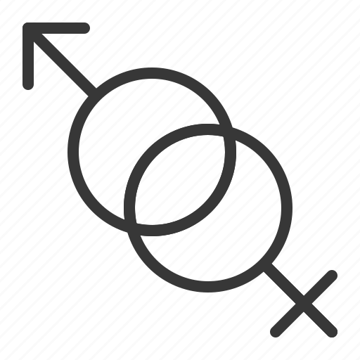 dating, female, love, male, sex, sign icon