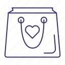 bag, gift, present, shop, shopping icon