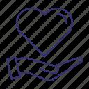 care, caring, heart, love, romance, valentine, valentines icon