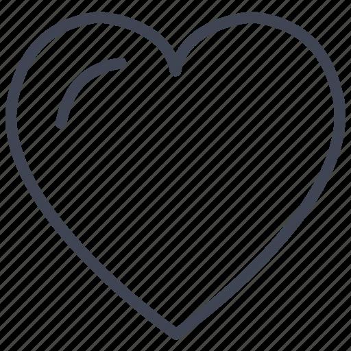 heart, love, romance, romantic, valentine, valentines icon