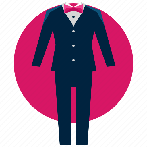 fashion, formal, groom, love, marriage, suit icon