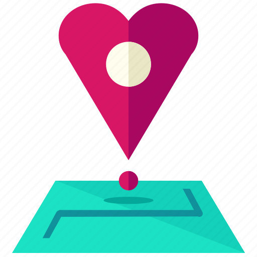 heart, location, love, map, marriage, navigation icon