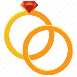 engagement, jewellery, love, marriage, rings icon
