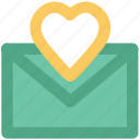 feelings, greetings, love, love greeting, love mail, passion, valentine day icon