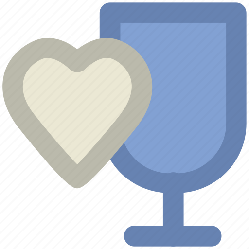 drink, feelings, heart sign, love theme, passion, sentimental, valentine day icon