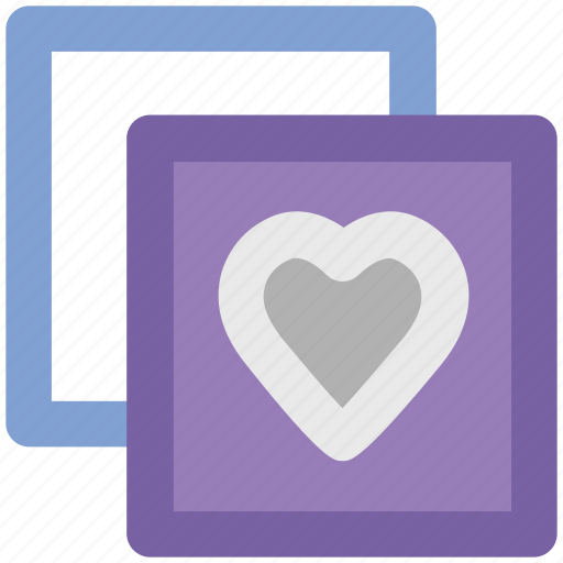 affection, greetings, love, love heart, lover, together, two heart icon
