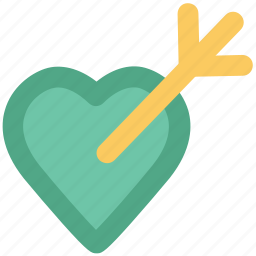 affection, arrow, heart, love, love archery, love target, romantic icon