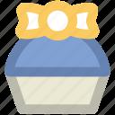 celebrations, gift, party, present, ribbon tie, xmas gift icon