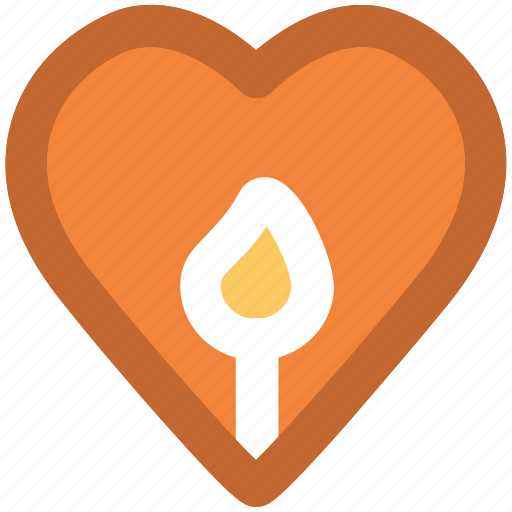 burning candle, candle, heart shaped, relaxation, romantic symbol, spirituality, wedding day icon