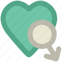 affection, boyfriend, husband romance, love sign, lover, male heart icon