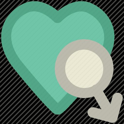 affection, boyfriend, husband romance, love sign, lover, male heart icon