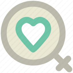 affection, female heart, girlfriend, in love, love sign, lover, wife icon