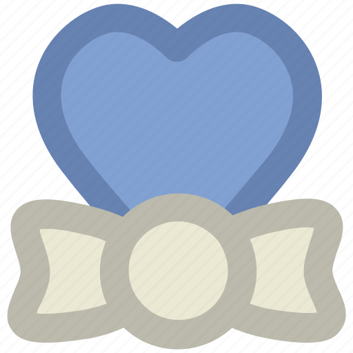congratulations, event, gift decoration, greetings, heart shape, occasion, ribbon bow icon