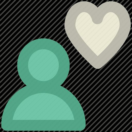 beloved, boyfriend, darling, heart sign, lover, male avatar, sweetheart icon