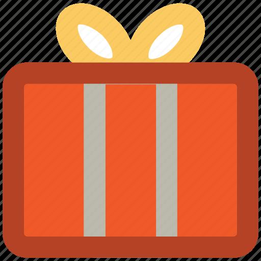 celebrations, gift, gift box, party, present, ribbon tie, xmas gift icon