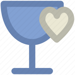 drink, feelings, heart sign, love, passion, sentimental, valentine day icon
