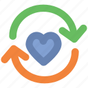 dating, heart reload, infographic element, love, love symbol, webelement