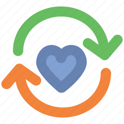 dating, heart reload, infographic element, love, love symbol, webelement icon