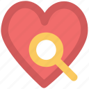 dating, heart, heart search, love symbol, magnifier, marriage proposal find partner